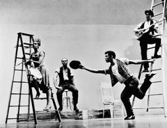 "Alvin Ailey's ""The Roots of the Blues"", 1961. Signed by Jack Mitchell"