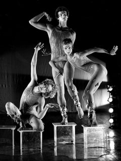 Alwin Nikolais Modern Dance Company Performing 'Aviary', signed by Jack Mitchell