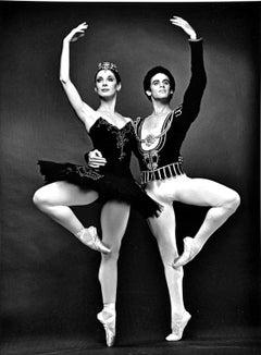 American Ballet Theater principal dancers Cynthia Gregory and Fernando Bujones