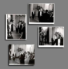 American Ballet Theatre at the Kennedy White House in 1962 - Set of 4 8 x 10's