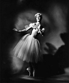 American Ballet Theatre Ballerina Toni Lander, signed by Jack Mitchell