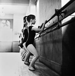 American Ballet Theatre Children's Dance Class, signed by Jack Mitchell