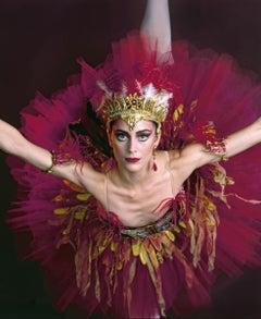 "American Ballet Theatre dancer Christine Dunham in 'The Firebird' 17 x 22"""