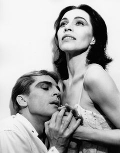 "American Ballet Theatre dancers Maria Tallchief and Erik Bruhn in ""Miss Julie"""
