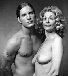 Andy Warhol 'Heat' Superstars Sylvia Miles & Joe Dallesandro nude for After Dark