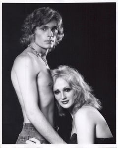 Andy Warhol Superstar Candy Darling and Dorian Gray