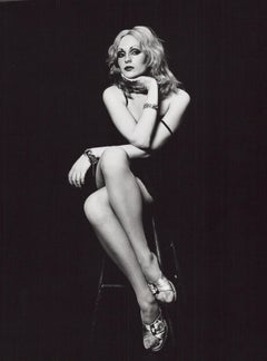 Andy Warhol Superstar Candy Darling Studio Portrait Used on Cover of After Dark