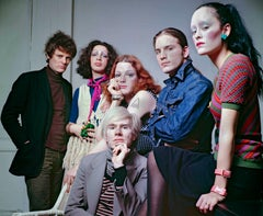 Andy Warhol & Superstars Jackie, Jane, Joe, Holly & director Paul Morrissey