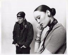 Andy Warhol Superstars Joe Dallesandro and Jane Forth, stars of 'Trash'