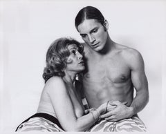 Andy Warhol superstars Joe Dallesandro and Sylvia Miles in 'Heat'