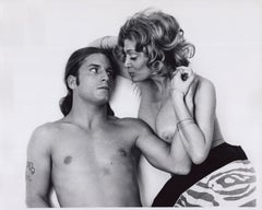 Andy Warhol superstars Joe Dallesandro and Sylvia Miles in 'Heat'