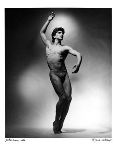 Argentine Ballet Dancer Julio Bocca, signed by Jack Mitchell
