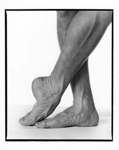 Argentine Ballet Dancer Julio Bocca's Feet, signed by Jack Mitchell