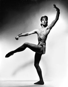 Argentinian dancer Julio Bocca, signed by Jack Mitchell