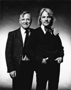Author Christopher Isherwood and his partner artist Don Bachardy