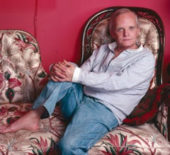 "Author Truman Capote At Home, 17 x 22"" Exhibition Photograph"