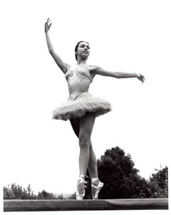 Ballerina Maria Tallchief performing 'Sylvia Pas de Deux' at Jacob's Pillow