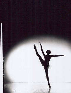 Ballerina Silhouette, signed by Jack Mitchell