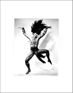 Barton Mumaw performing 'Fetish' at Jacob's Pillow, signed exhibition print