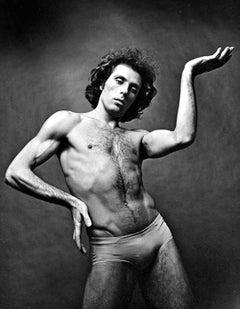 Bejart Ballet dancer Jorge Donn, signed by Jack Mitchell