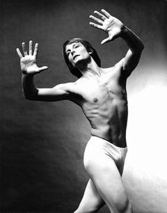 Boston Ballet dancer Woltach Lowski, signed by Jack Mitchell