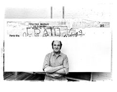 British-American Artist Malcolm Morley in his Manhattan Studio