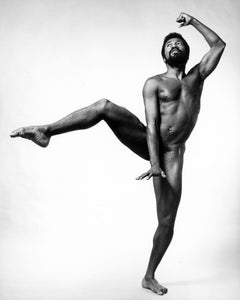 Broadway actor, dancer & singer Ben Vereen, nude, signed by Jack Mitchell