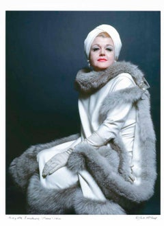 Broadway star Angela Lansbury as 'Mame', signed by Jack Mitchell