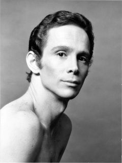 Broadway star Joel Grey studio portrait, signed by Jack Mitchell