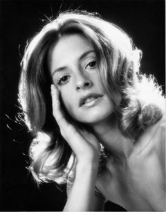 Broadway Star Patti LuPone's first professional headshot signed by Jack Mitchell