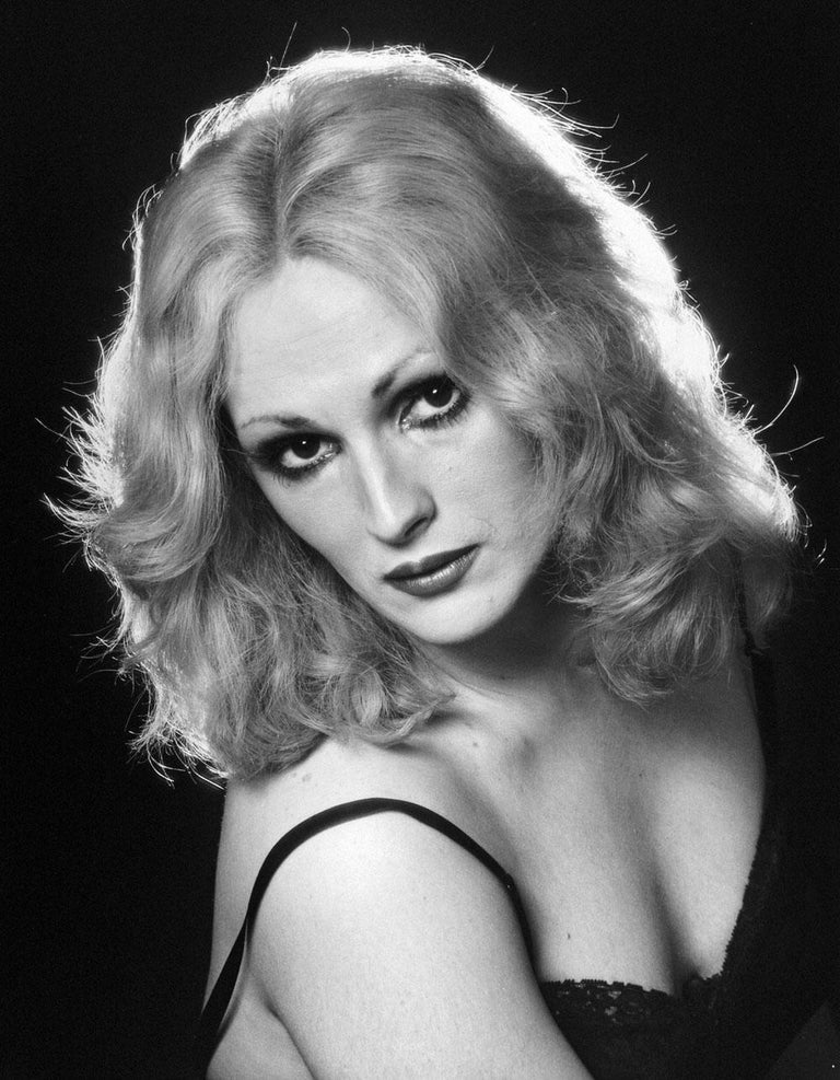 Jack Mitchell Black and White Photograph - Candy Darling