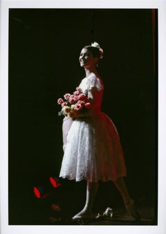 Carla Fracci curtain call after performance of 'Coppelia' at the American Ballet