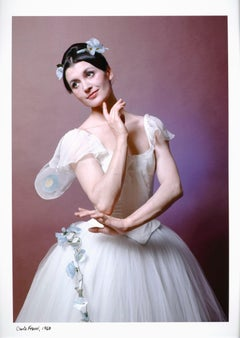 Carla Fracci performing 'Coppelia' at the American Ballet Theatre