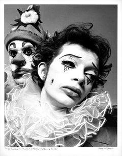 Cast members of Gerald Arpino's Joffrey Ballet masterpiece 'The Clowns'