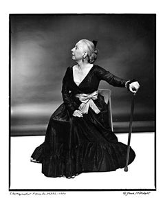 Choreographer Agnes de Mille, signed by Jack Mitchell
