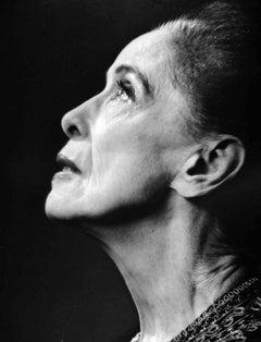 Choreographer, Dance Company Founder Martha Graham, Signed