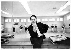 Choreographer Gerald Arpino rehearsing the Joffrey Ballet