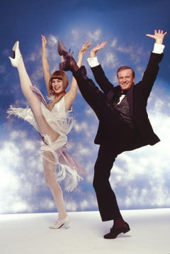 Colleen Dunn & Peter Allen on Broadway 'Dance Magazine' cover shot 17 x 22""