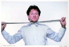 Comedian Robin Williams, signed by Jack Mitchell