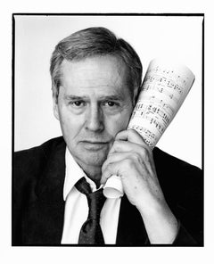 Composer and diarist Ned Rorem