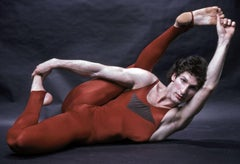 Contortionist Daniel Shapiro, signed by Jack Mitchell