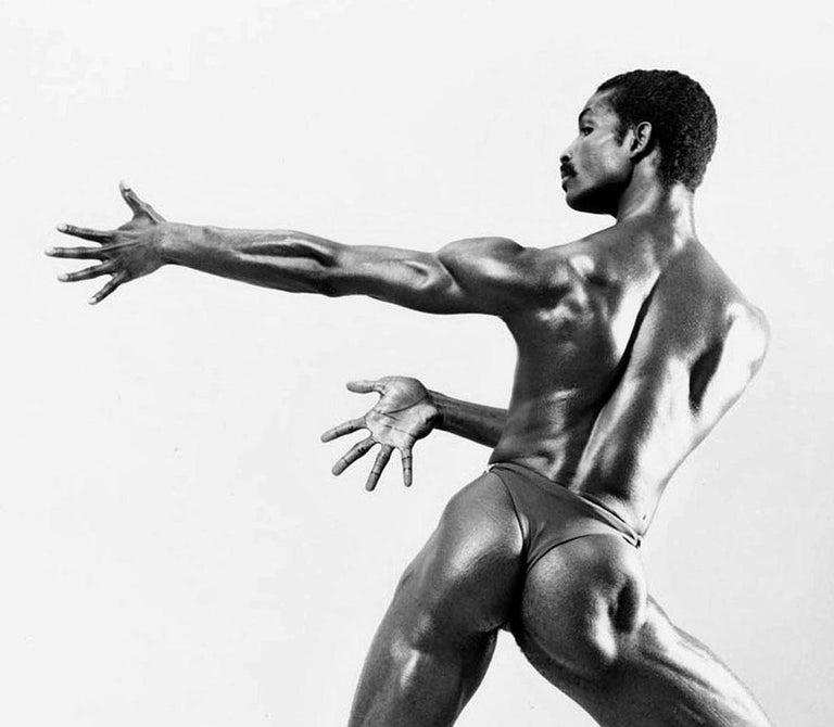 Dance Theatre of Harlem dancer Roman Brooks - Photograph by Jack Mitchell