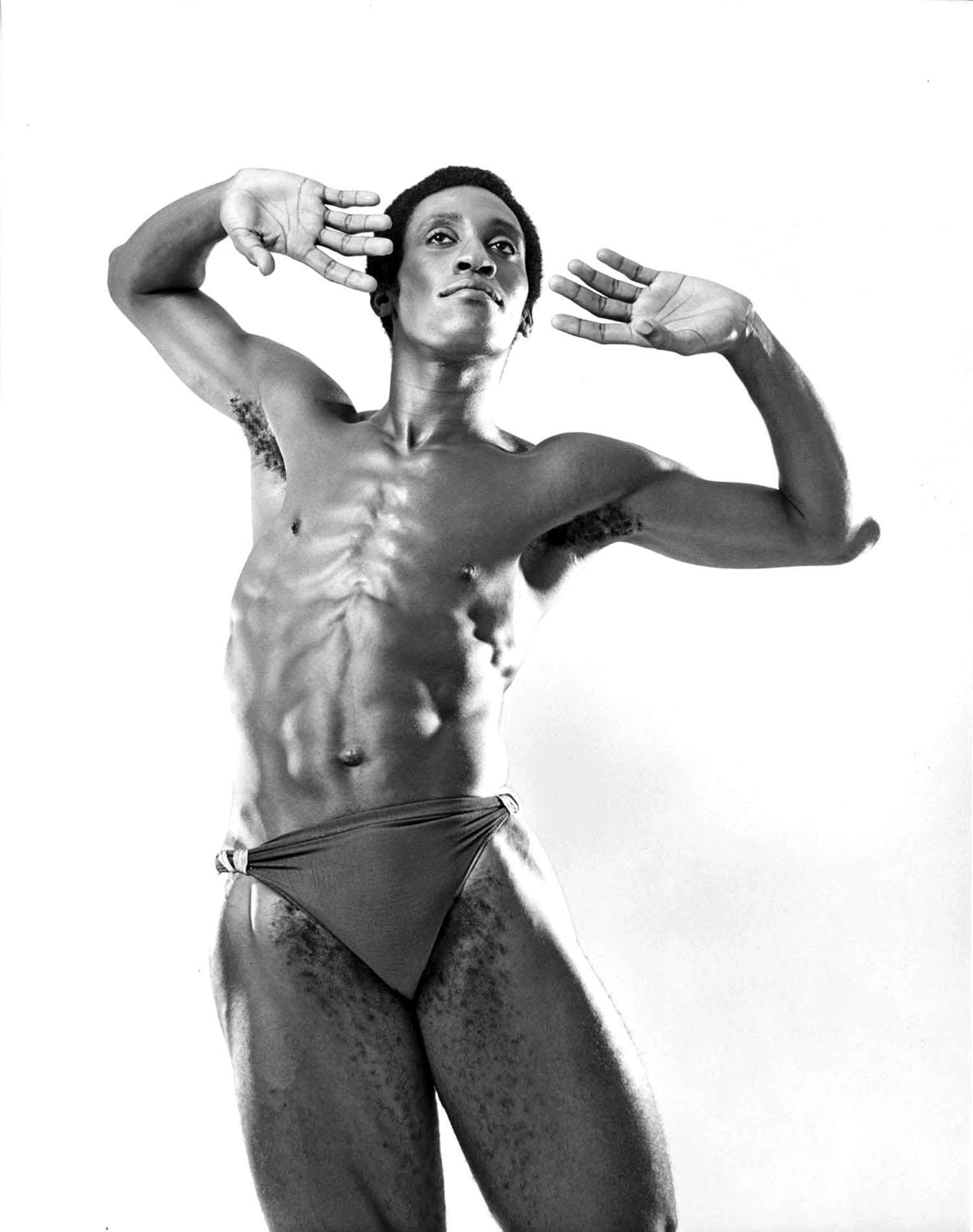 Jack Mitchell - Dance Theatre of Harlem dancer Ronald Darden For Sale at 1stDibs