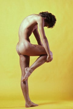Dancer Alain Saulier, nude, signed by Jack Mitchell