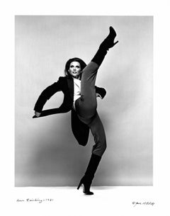 Dancer and Broadway Star Ann Reinking, signed by Jack Mitchell