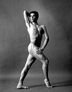 Dancer and Choreographer Louis Falco nude, signed by Jack Mitchell