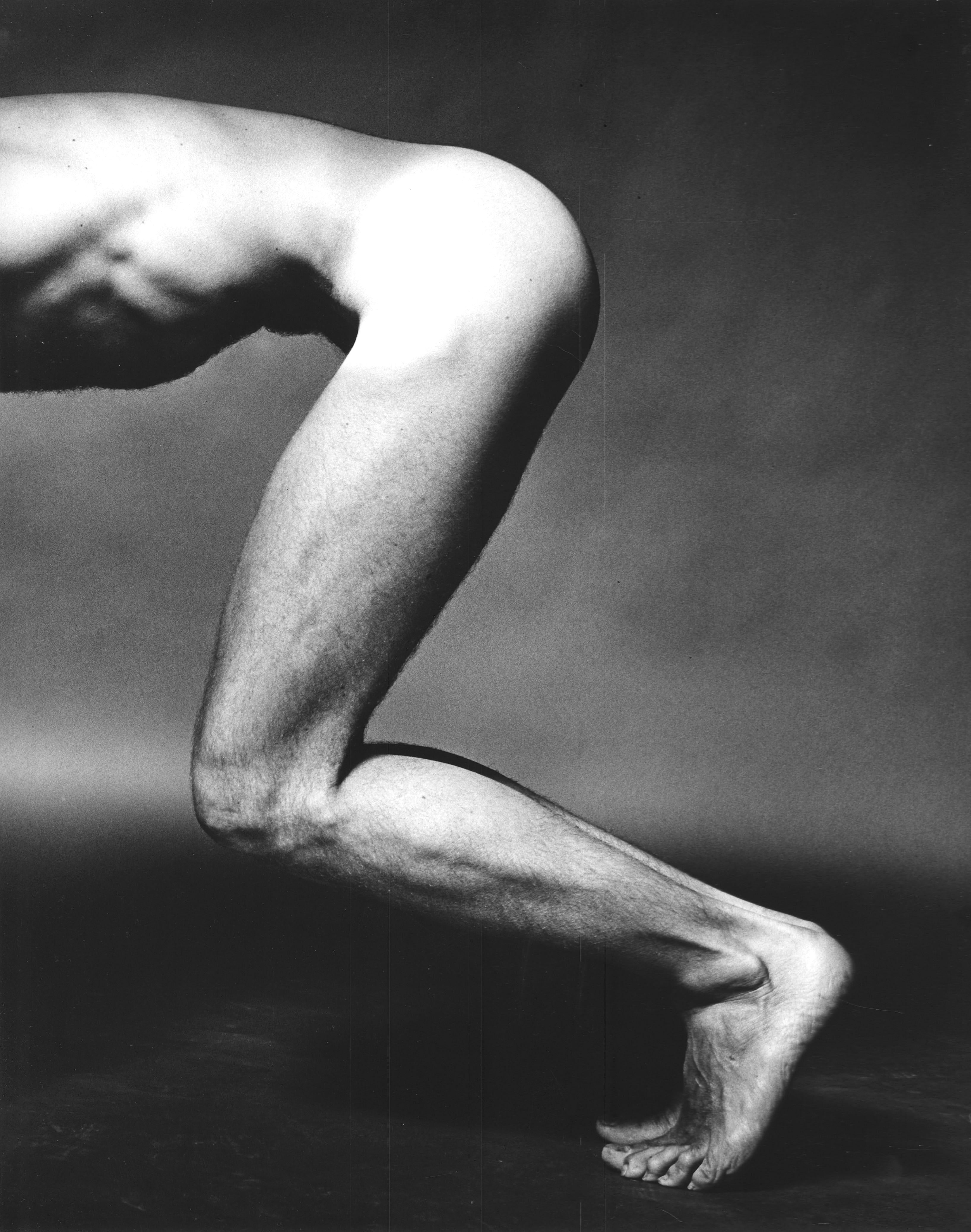 Dancer (anonymous), nude study for After Dark magazine, signed by Jack Mitchell