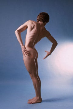 Dancer Brian Poer, nude, signed by Jack Mitchell