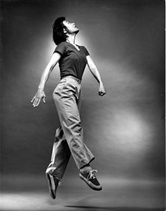 Dancer, choreographer, and filmmaker Yvonne Rainer, signed by Jack Mitchell
