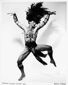 Dancer/Choreographer Barton Mumaw performing 'Fetish' signed by Jack Mitchell